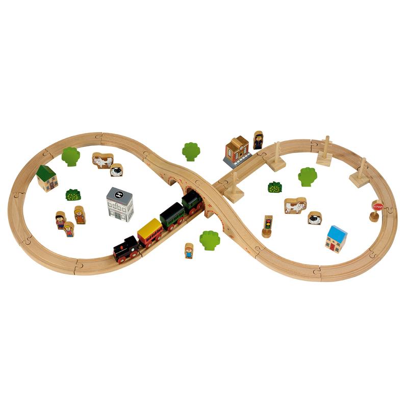50 Piece Train Set
