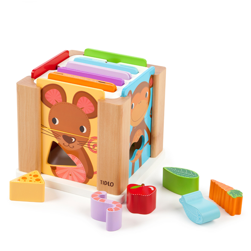 Tumble Tots Animal Sorting Cube
