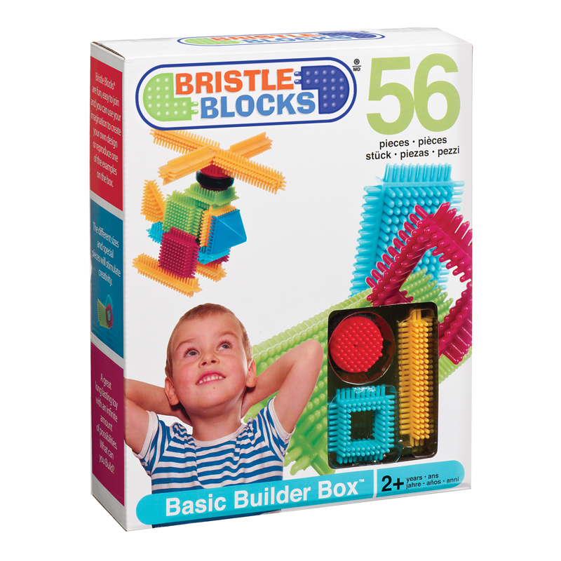 Bristle Blocks Basic Builder Box 56 pcs
