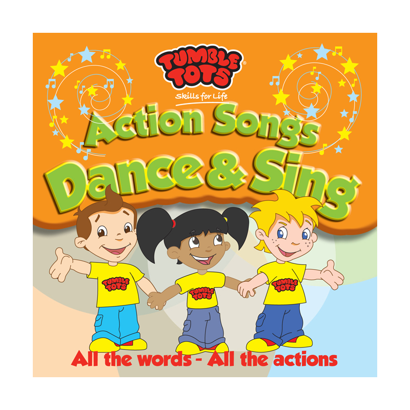 Tumble Tots Action Songs CD Dance and Sing