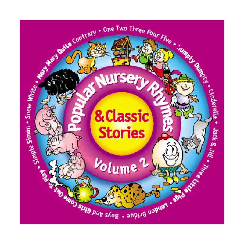 Popular Nursery Rhymes Classic Stories Vol 2