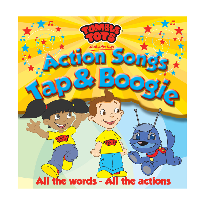 Tumble Tots Action Songs CD Tap Boogie