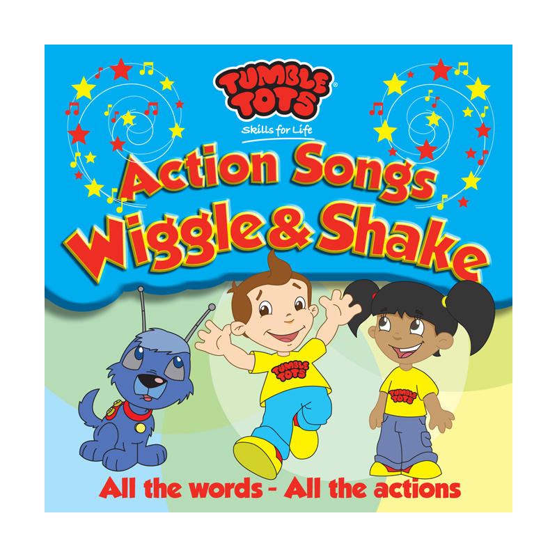 Tumble Tots Action Songs Wiggle and Shake | Tumble Tots