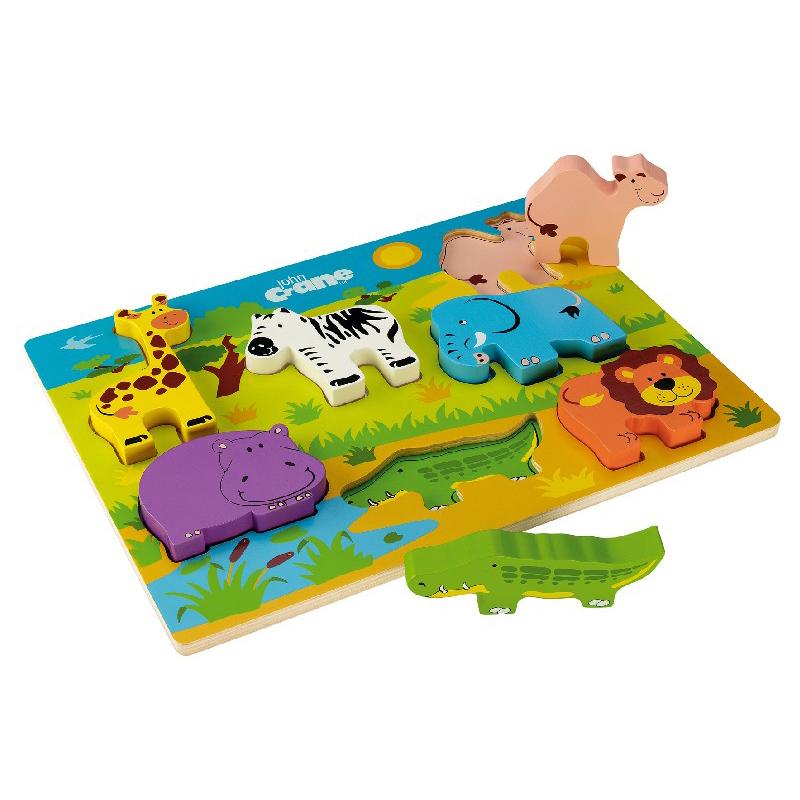 Chunky Safari Puzzle