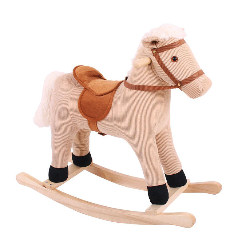 Tumble Tots Cord Rocking Horse