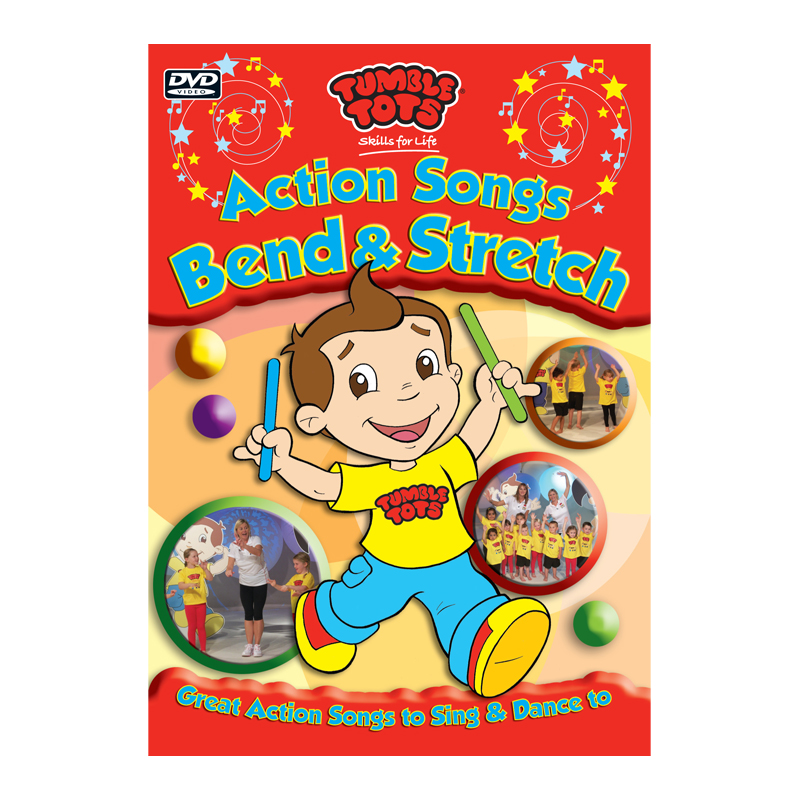 Tumble Tots Action Songs DVD Bend Stretch