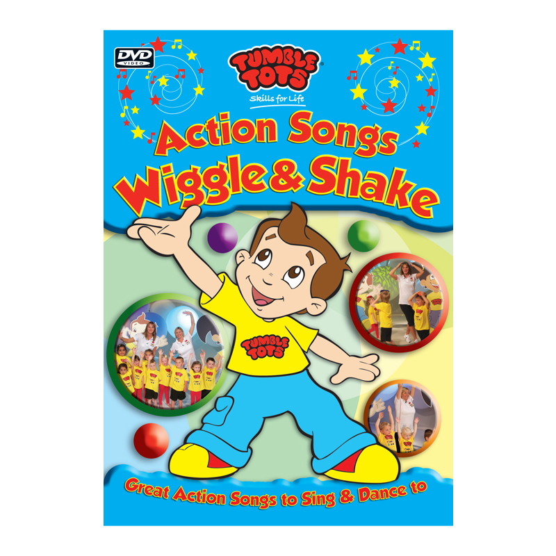 Tumble Tots Action Songs DVD Wiggle Shake