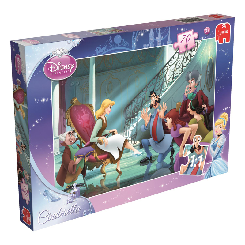 Disney Princess Cinderella 70 Piece Puzzle Slipper