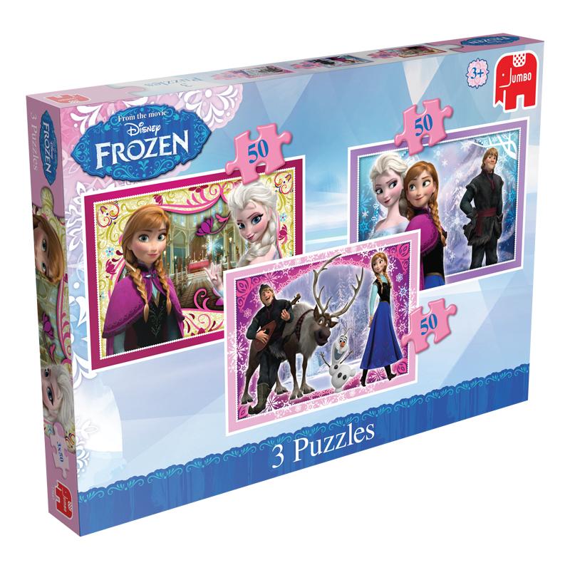 Disney Frozen Trio Puzzles Tumble Tots
