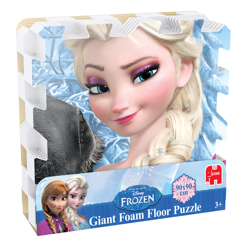 Disney Frozen 9pc Giant Foam Floor Puzzle