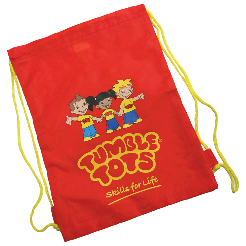 Red Drawstring Bag