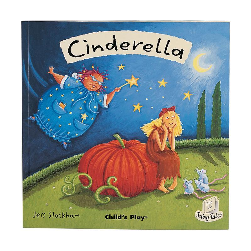 Cinderella Flip Up Fairy Tale