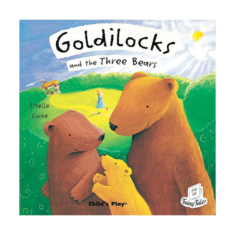 Goldilocks and the Three Bears Flip Up Fairy Tale