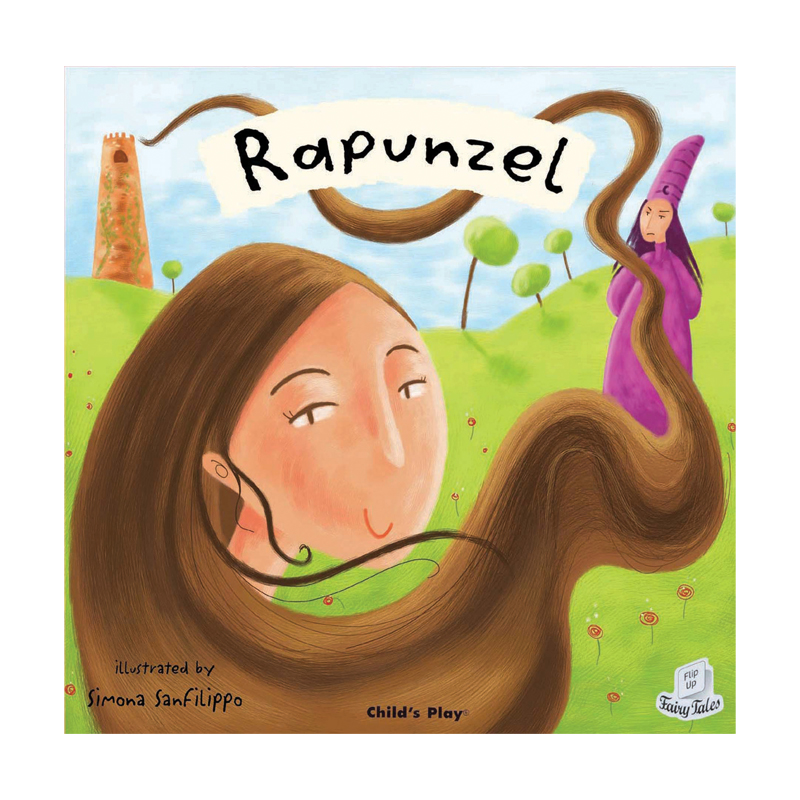 Rapunzel Flip Up Fairy Tale
