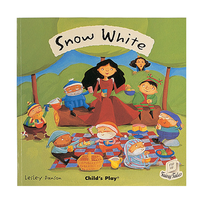 Snow White Flip Up Fairy Tale