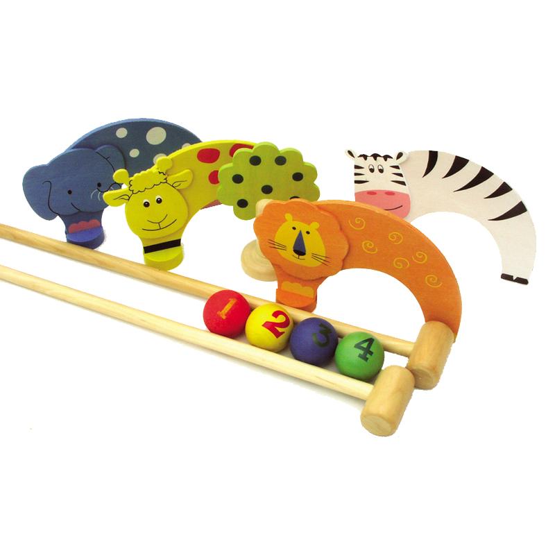 Jungle Croquet Set