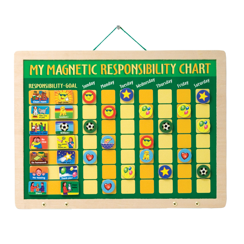Tumble Tots My Magnetic Responsibility Chart
