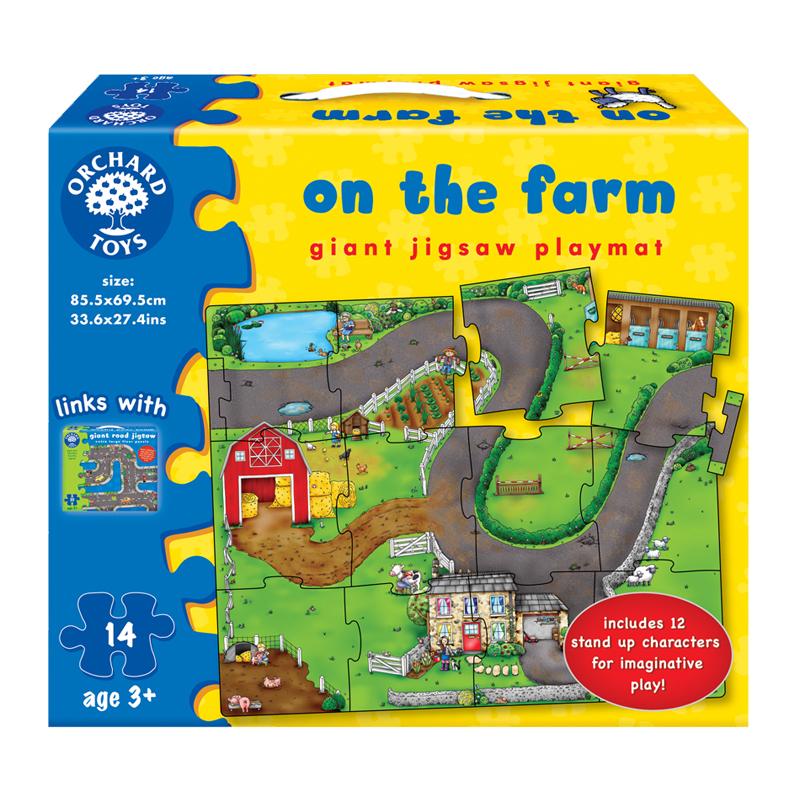On The Farm Giant Jigsaw Playmat Tumble Tots