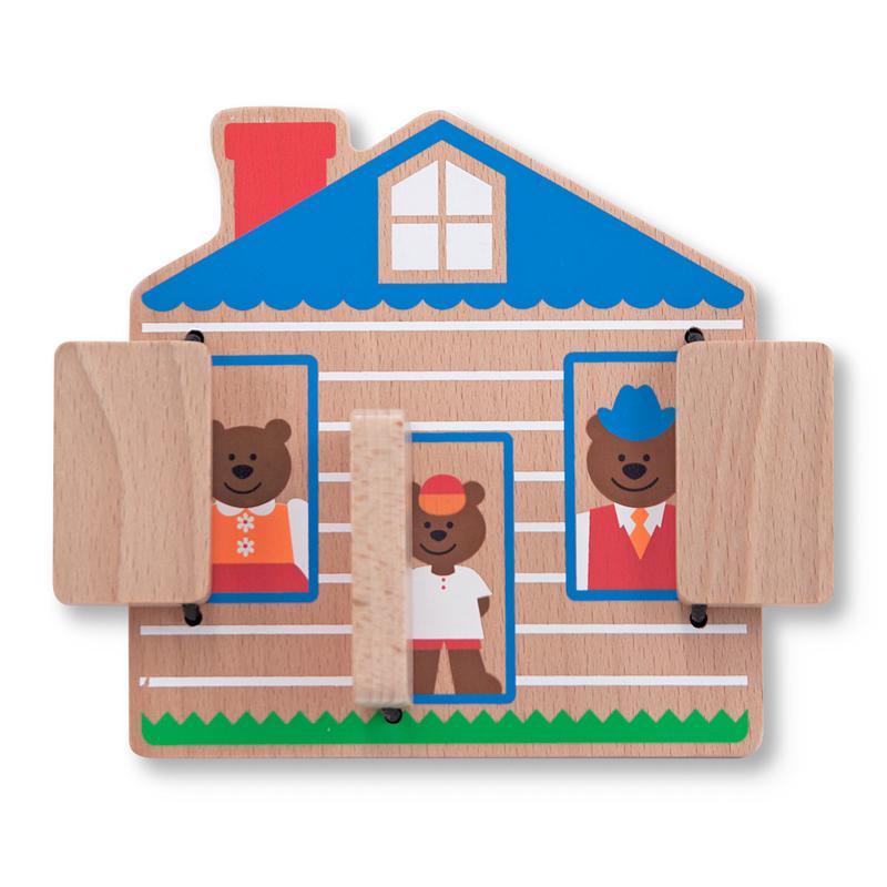 Peek a Boo House Bears