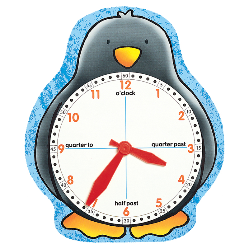 Penguin Clock Face