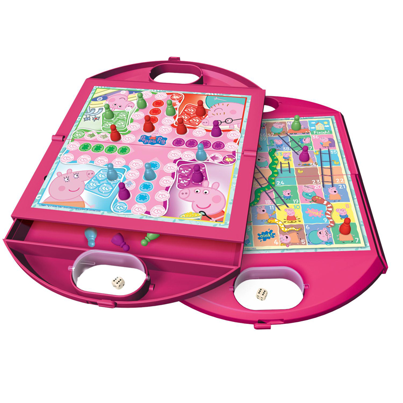 Peppa pig 2 in 1 travel game tumble tots