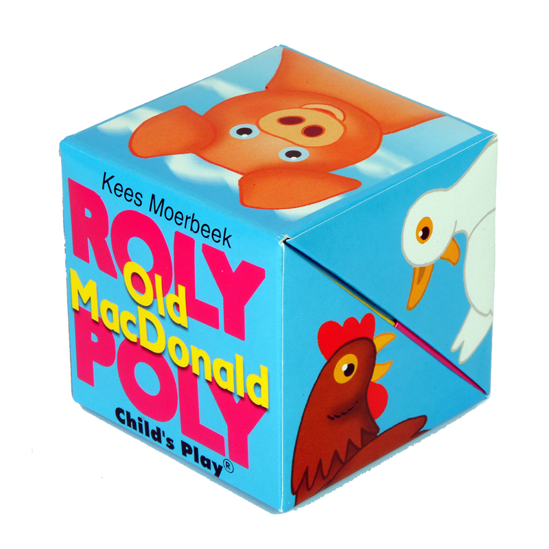 Old Macdonald Roly Poly Box Book