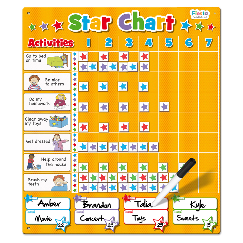 Star Chart  Large  Tumble Tots