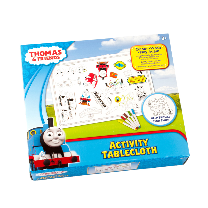 Thomas and Friends Activity Tablecloth