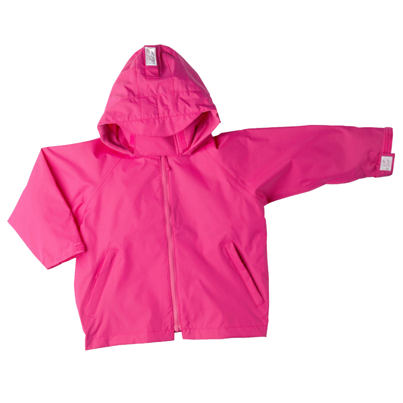 Togz Waterproof Jacket Raspberry