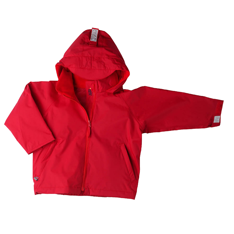Togz Waterproof Jacket Red