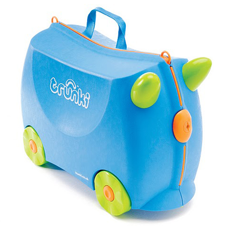 Trunki Ride on Suitcase Terrance Blue