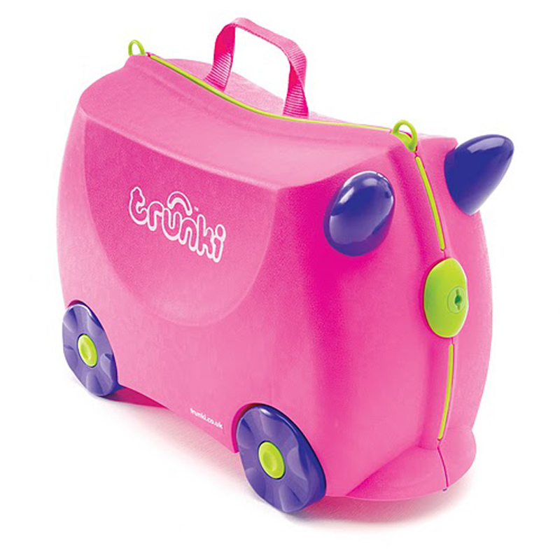 Trunki Ride on Suitcase Trixie Pink