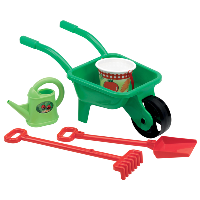 Wheelbarrow with Accessories