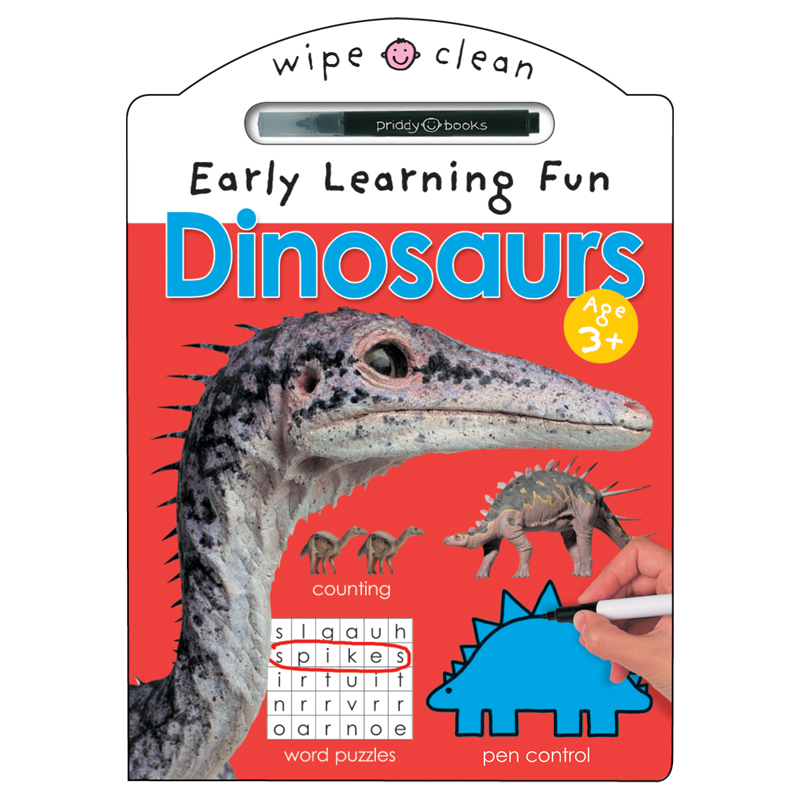 Wipe Clean Early Learning Fun Dinosaurs
