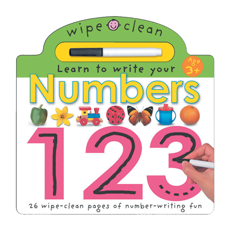 Wipe Clean Board Book Numbers