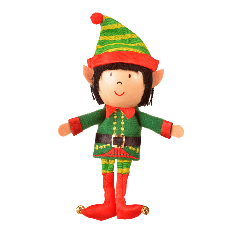 Boy Elf Finger puppet