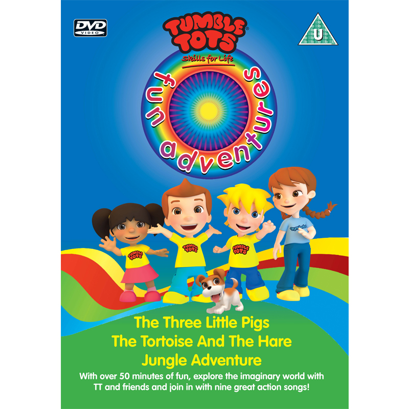 Tumble Tots Fun Adventures DVD