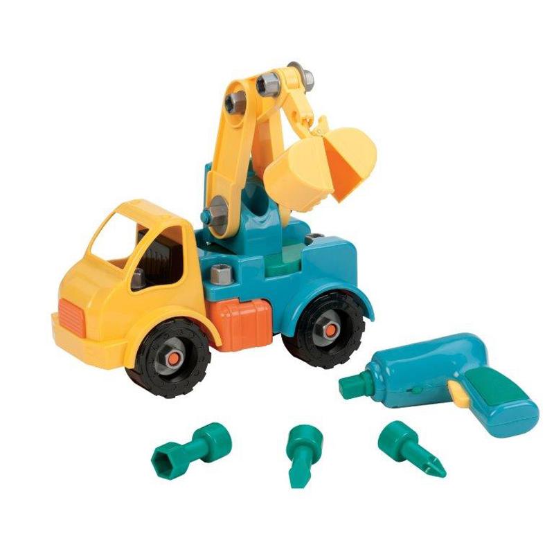 Take Apart Crane Truck