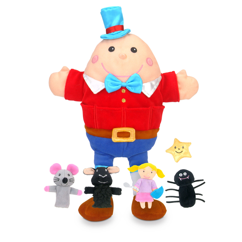 Tumble Tots Nursery Rhymes Hand & Finger Puppet Set