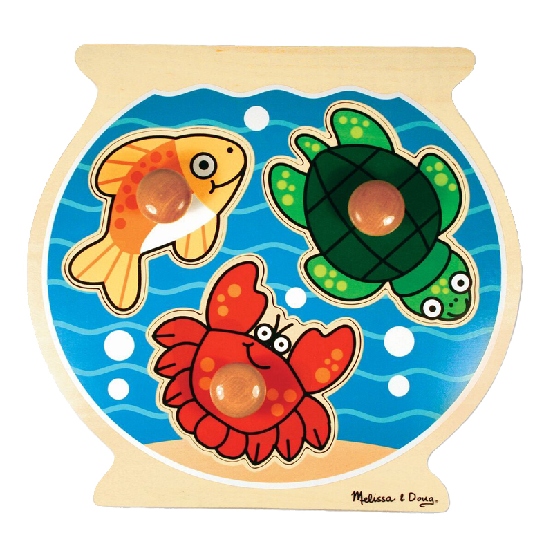 Fish Bowl Peg Puzzle