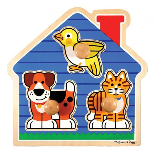 House Pets Peg Puzzle