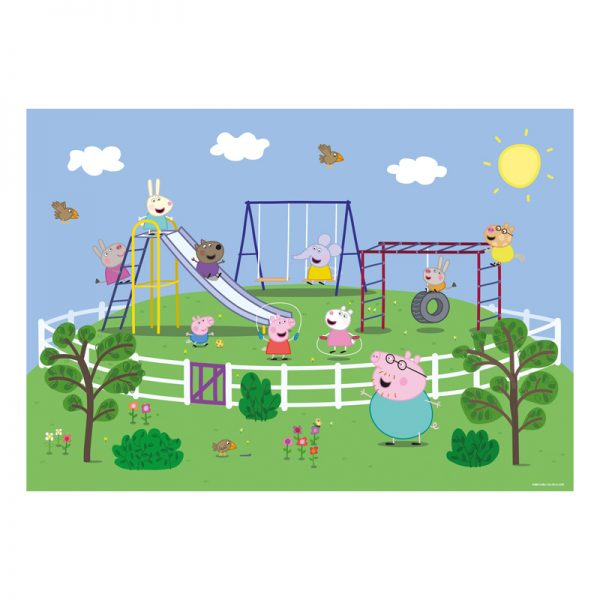 Peppa Pig Puzzle & Colour