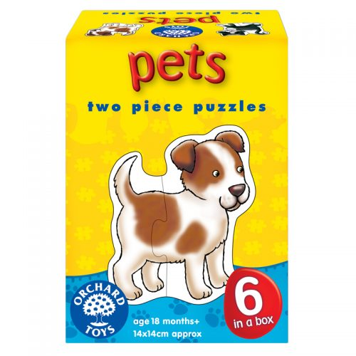 Pets Two Piece Puzzles