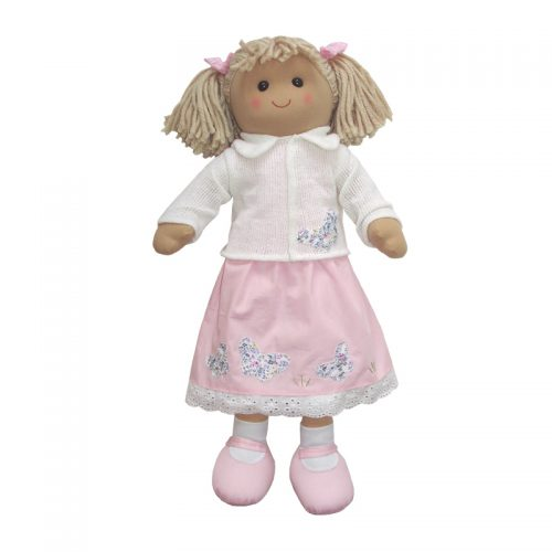 Rag Doll 60cm - Pink Dress