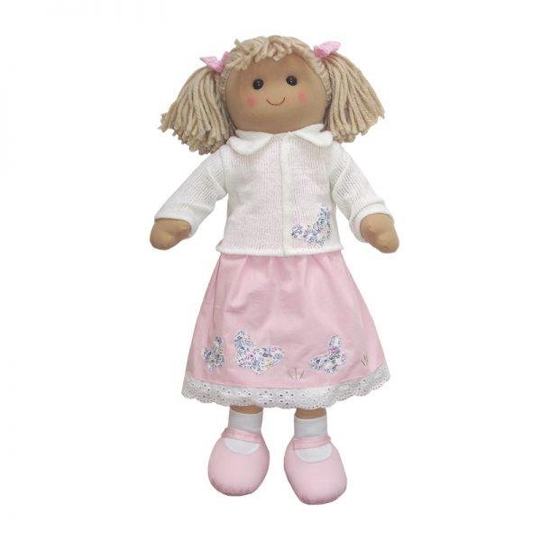 Rag Doll 60cm - Pink Dress