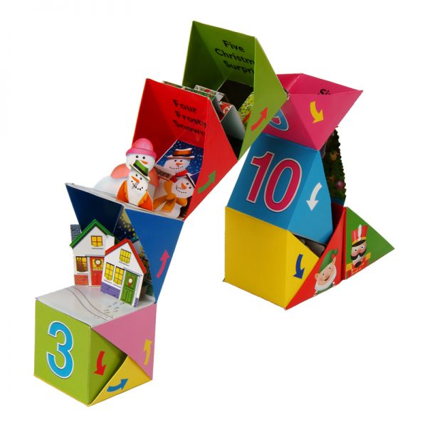 Countdown to Christmas Roly Poly Box Book