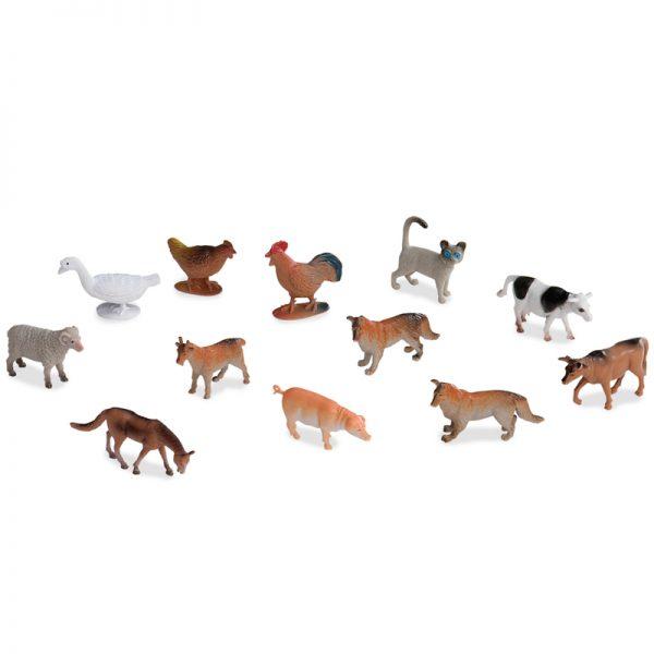 Farm Animals in a Tube
