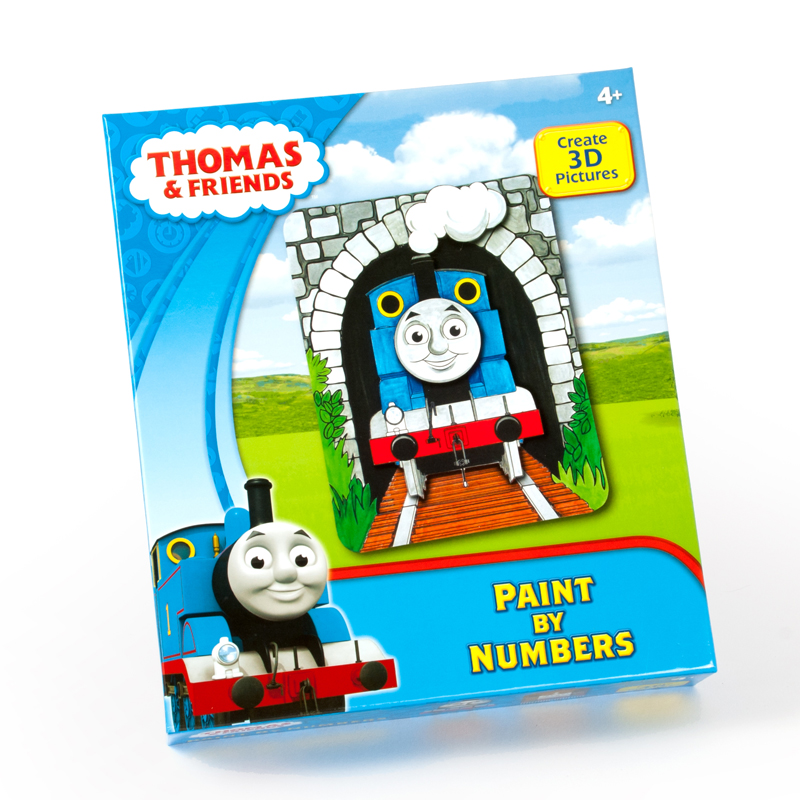 Thomas and Friends Paint by Numbers