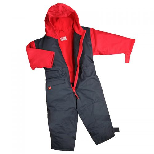 Togz Fleece Lined All In One - Red/Navy