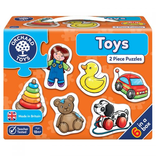 Toys Two Piece Puzzles
